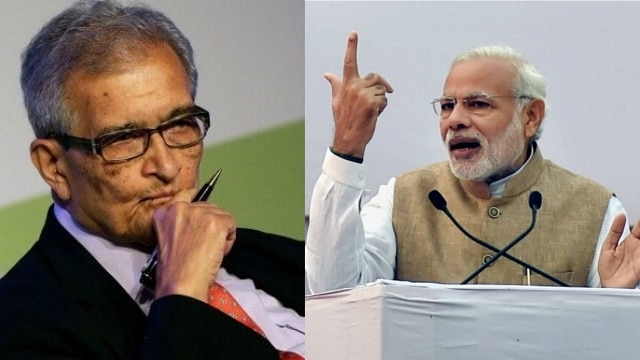 Image result for Amartya sen modi