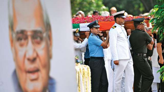 Atal Bihari Vajpayee, Funeral, Prime Minister, NEW DELHI
