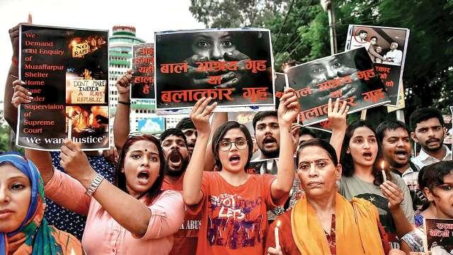 muzaffarpur-shelter-home-protest-pti