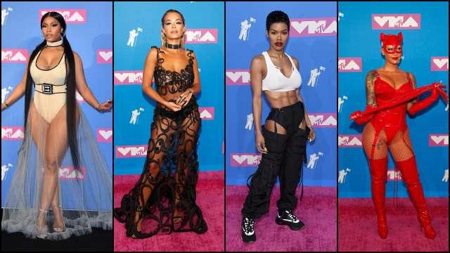 Nicki Minaj, Rita Ora, Teyana Taylor, and Amber Rose