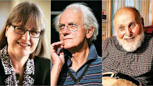 Donna Strickland, Gerard Mourou and Arthur Ashkin
