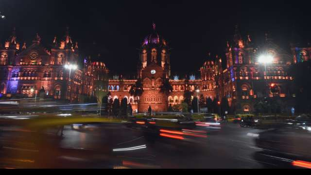Chattrapathi Shivaji Terminus railway station on eve of 26/11