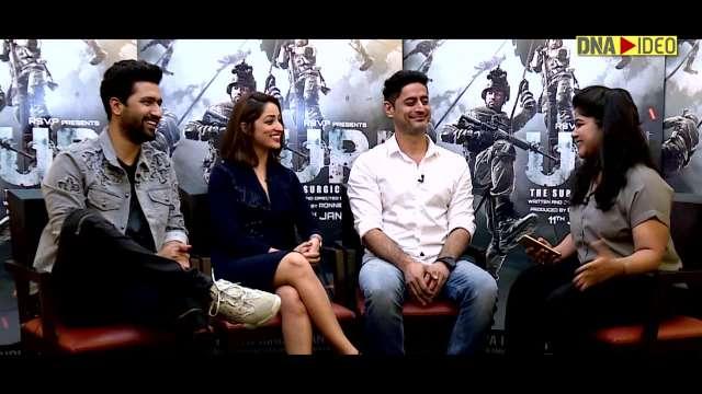 Vicky Kaushal, Yami Gautam, Mohit Raina  URI   Full Interview  DNA Exclusive