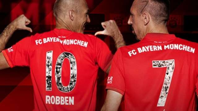 big sale b6a1e 2d221 Robbery': Bundesliga release video on Arjen Robben and ...