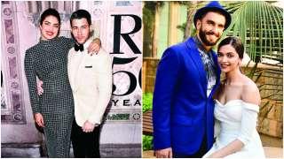 Priyanka Chopra-Nick Jonas, Deepika Padukone-Ranveer Singh: Two big Bollywo...