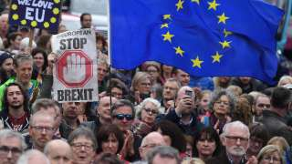 Hundreds of thousands take to streets in London demanding second Brexit vot...