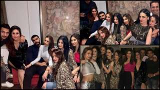 Arjun Kapoor and Malaika Arora party the night away with friends