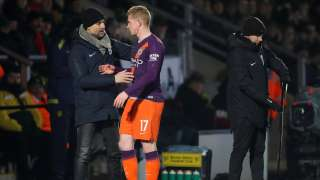 FA Cup: Pep Guardiola expects Man City to suffer in tricky trip to Newport