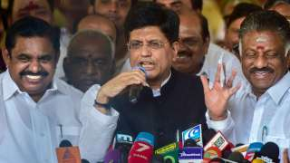 AIADMK reaches deal with BJP, PMK; Goyal confident of clean sweep