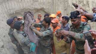 Hisar: Indian Army rescues 18-month-old boy trapped in borewell after 40 ho...