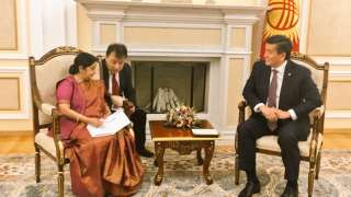 Ahead of SCO Foreign Minister's meeting, Sushma Swaraj discusses ways...