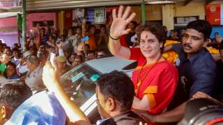 With eyes on 2022, Priyanka to step up UP tours, meet Cong workers twice a...
