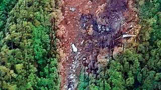 Six bodies, remains of 7 others recovered from AN-32 crash site