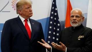 Modi and Trump at the G-20 Summit