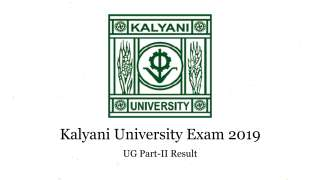 Kalyani University UG Part-II Exam: Result declared for BA, BSc, BCom @klyu...