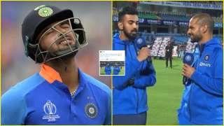 WATCH: Shikhar Dhawan hilariously trolls Rishabh Pant after KL Rahul's...