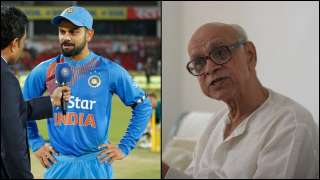 IND vs AUS: Team India wear black armbands as tribute to Bapu Nadkarni