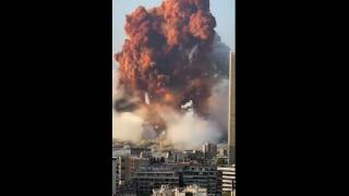 Watch: Massive blast rocks Lebanon's capital, explosion captured on ca...
