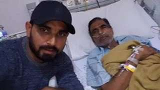 'Proud to be your son', Mohammed Shami's note to his father...