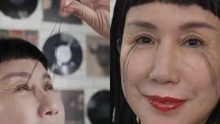 Meet You Jianxia, the woman with 8 inch long eyelashes, longest in the worl...