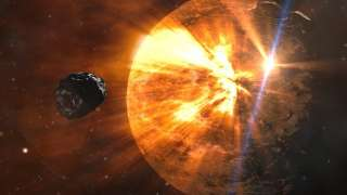 Study confirms the size of giant comet falling towards the sun, also the largest ever