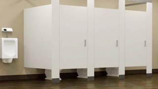 Ever wondered why toilet gates in malls, offices, cinema halls are cut from...