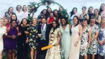 These dreamy pictures from ex-English cricketer Isa Guha's wedding are...