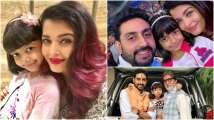 These pictures of Aishwarya Rai Bachchan and Aaradhya with Abhishek and Ami...