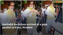Amitabh Bachchan with wife Jaya, daughter Shweta offer prayers and sought b...