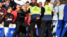 Watch: Man United manager Jose Mourinho explodes after Chelsea staff m...