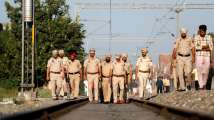 Amritsar Tragedy: Locals continue protest at train accident site