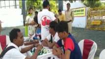 Betul: Differently abled kids performed sports to encourage voting