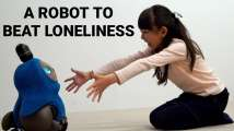 This robot can help you get rid of loneliness