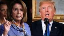 Donald Trump cancels Nancy Pelosi's Belgium trip as tensions moun...