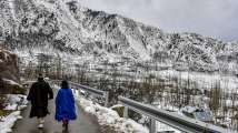 In pics: Snowfall in Kashmir, Himachal Pradesh to intensify cold wave in No...