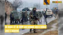 Pulwama attack: In shock after 37 CRPF jawans' death, India mulls acti...