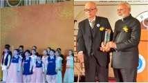 Watch: South Korean kids sing 'Vaishnav Jan To' to honour PM Modi and it's pure & beautiful