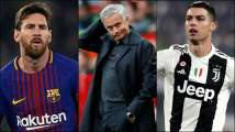 Who is 'Goat', Lionel Messi or Cristiano Ronaldo? Jose Mourinho gives...