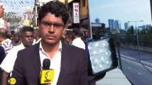 Watch: Bomb defused behind WION correspondent in Colombo
