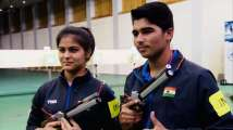 ISSF World Cup 2019: Saurabh Chaudhary, Manu Bhaker win Gold in 10m Ai...