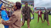 Photos and video: Ahead of 83 release, Ranveer Singh turns commentator for...