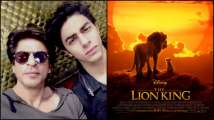 After 15 years, Shah Rukh Khan and son Aryan Khan collaborate once again and this time for 'The Lion King'!