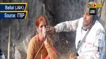 Amarnath Yatra: ITBP personnel administers oxygen to devotees in J&K's...