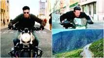WAR: Hrithik Roshan-Tiger Shroff shoot dangerous high-speed bike chase...