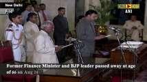 President Kovind, PM Modi express grief over demise of Arun Jaitley