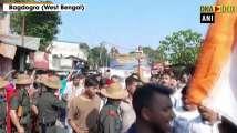 Mortal remains of Naik Subash Thapa brought to his residence in WB's Bagdog...