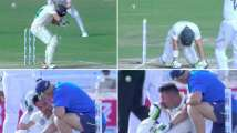 India vs South Africa: Dean Elgar retires hurt after being hit by Umes...