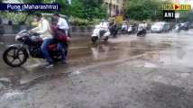 Heavy rains lead to water-logging in several parts of Pune