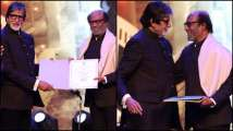 IFFI 2019: Amitabh Bachchan calls Rajinikanth 'incredible source of in...