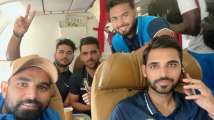 IND vs WI: Mohammed Shami, Rishabh Pant along with Team India off to M...
